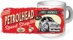 Koolart PERTOLHEAD SPEED SHOP Design For Retro Mk4 Escort RS Turbo RST Ceramic Tea Or Coffee Mug